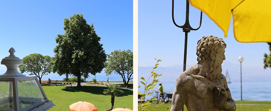 Strandcafe Langenargen Hotel Cafe Seeseite Außen Mobile