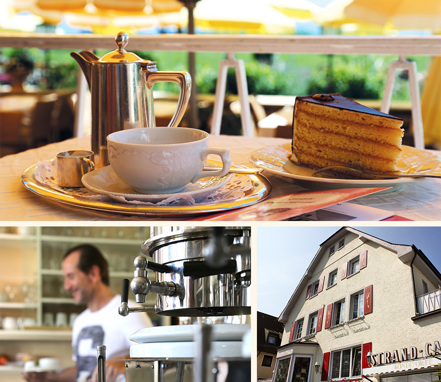 Strandcafe Langenargen Kaffeehaus Kaffee Kuchen