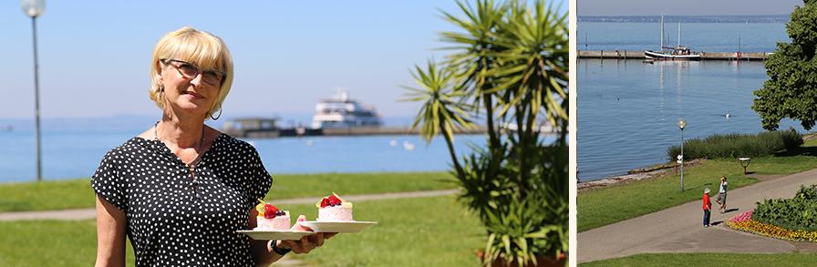 Strandcafe Langenargen Seeblick