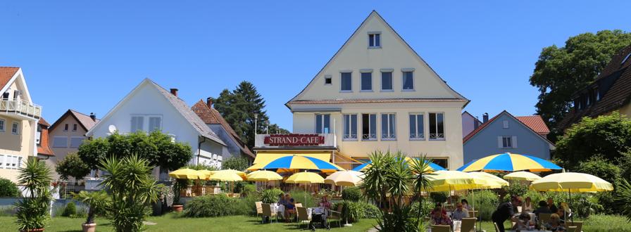 Strandcafe Langenargen Hotel Cafe Außen Seeseite