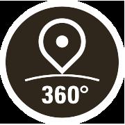Logo 360° Rundgang Hotel Strandcafe Langenargen